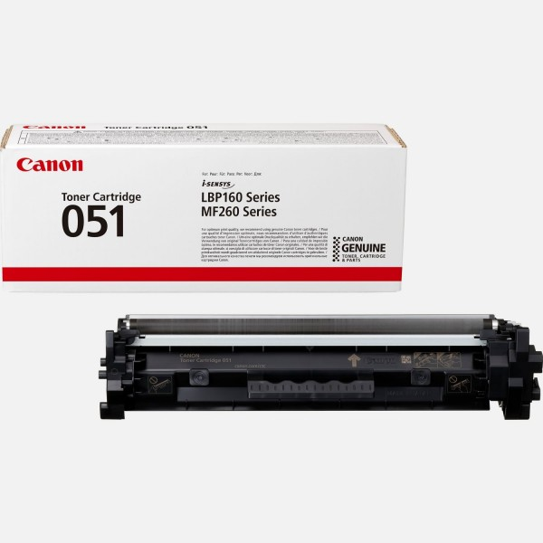 Canon 051 Toner schwarz 2168C002 für i-SENSYS LBP162dw MF264dw MF267dw MF269dw
