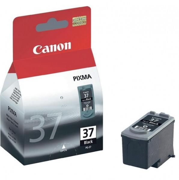 Canon PG-37 Tinte black 2145B001 Pixma iP1800 iP1900 iP2200 iP2500 iP2600