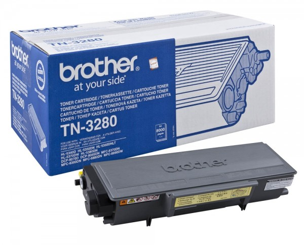 Brother TN-3280 Toner Black DCP-8085DN HL-5340D 5380DN MFC-8880DN 8890DW