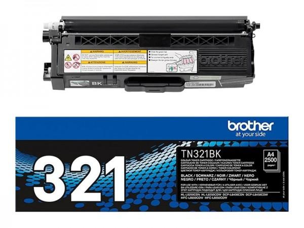 Brother TN-321BK Toner Black HL-L8250CDN L8350CDW L9200 MFC-L8650 L8850