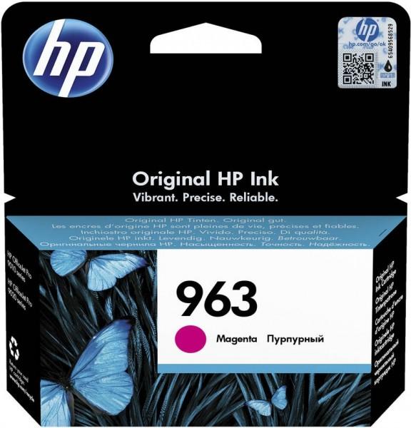 HP 963 Tintenpatrone magenta für OfficeJet Pro 9010 9012 9014 9015 3JA24AE