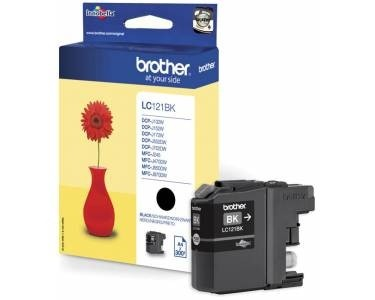 Brother Tinte Black LC121BK MFC-J6510DW MFC-J6710DW MFC-J6910DW DCP-J725DW