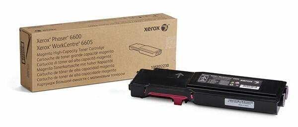 Xerox Toner Magenta 106R02230 für Phaser PH6600 WorkCentre 6605