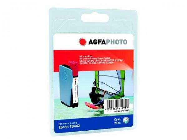 AGFAPHOTO ET044C Epson C64 Tinte Cyan