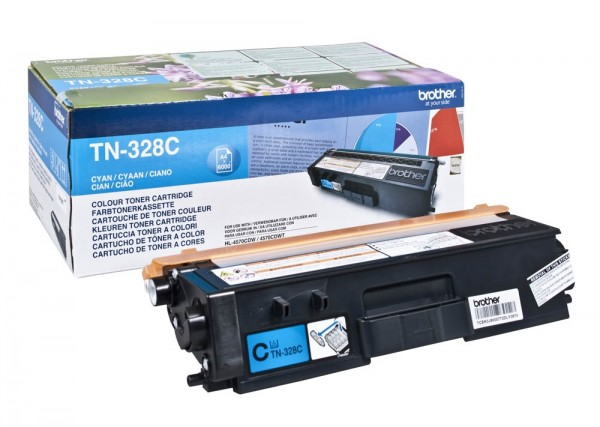 Brother TN-328C Toner Cyan DCP-9270 HL-4570 MFC-9970