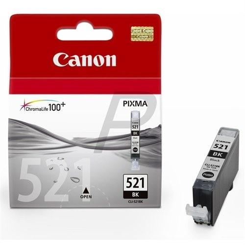 Canon CLI-521BK Tinte Black MP540 550 560 620 630 640 MX860 870 iP3600 4700 2933B001
