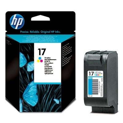 HP Druckpatrone dreifarbig No.17 für DeskJet 840C 843C 816C 845C