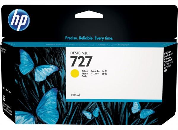 HP 727 Tinte Yellow DesignJet T920 T930 T1500 T1530 T2500 B3P21A