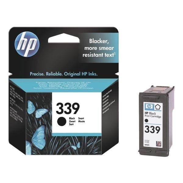 HP 339 Tinte Black C8767EE DJ6980 OfficeJet 7210 5740 6540 6310 7410 K7100