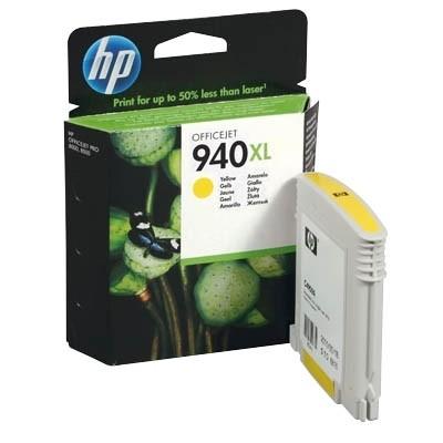 HP 940 XL Tinte Yellow für HP OfficeJet Pro 8000 Pro 8500 C4909AE