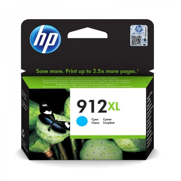 HP 912XL Tintenpatrone cyan 3YL81AE OfficeJet 8012 8014 8015 OfficeJet Pro 8022 8024 8025 8035