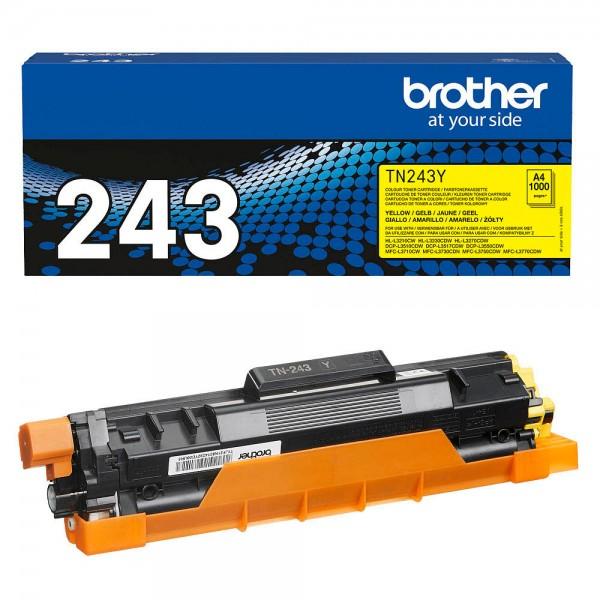 Brother TN-243Y Toner Yellow DCP-L3510 L3550 HL–L3230CDW MFC-L3750CDW L3770CDW