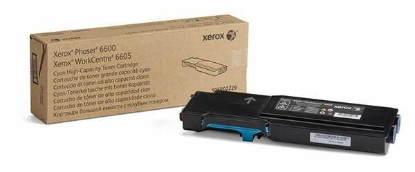 Xerox Toner Cyan 106R02229 für Phaser PH6600 WorkCentre 6605