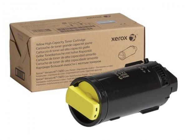 XEROX Toner yellow 106R03906 VersaLink C600 C605