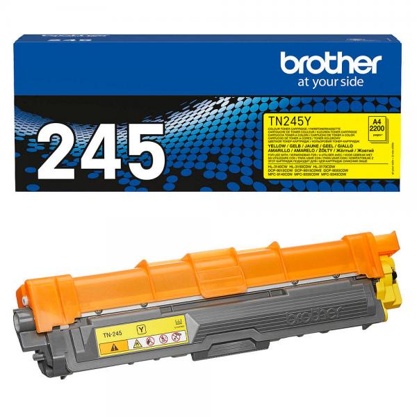 Brother TN-245Y Toner yellow für HL-3140CW 3150CDW MFC-9140 MFC-9330 MFC-9340 DCP-9020