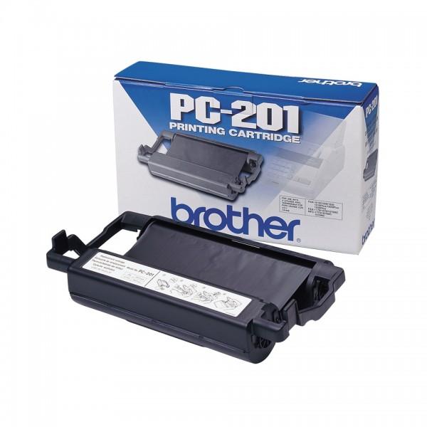 Brother Farbbandkassette PC-201 schwarz für MFC-1770 MFC-1780 MFC-1870MC MFC-1970MC