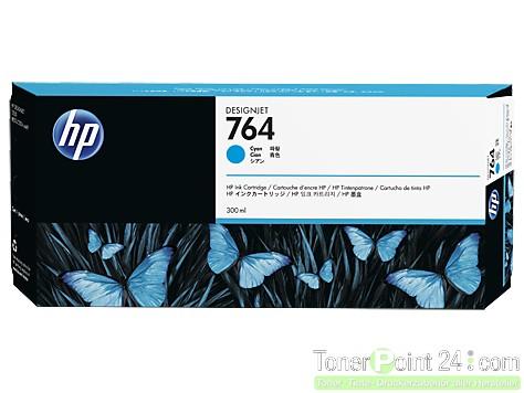 HP 764 Tinte Cyan DesignJet T3500 C1Q13A