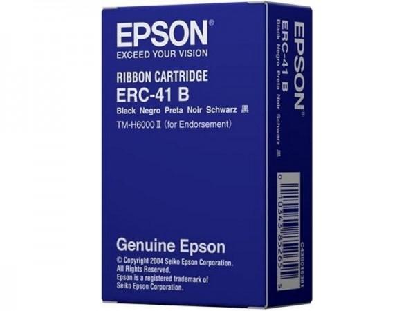 Epson ERC-41B Farbbandkassette schwarz für TM-H6000 Serie