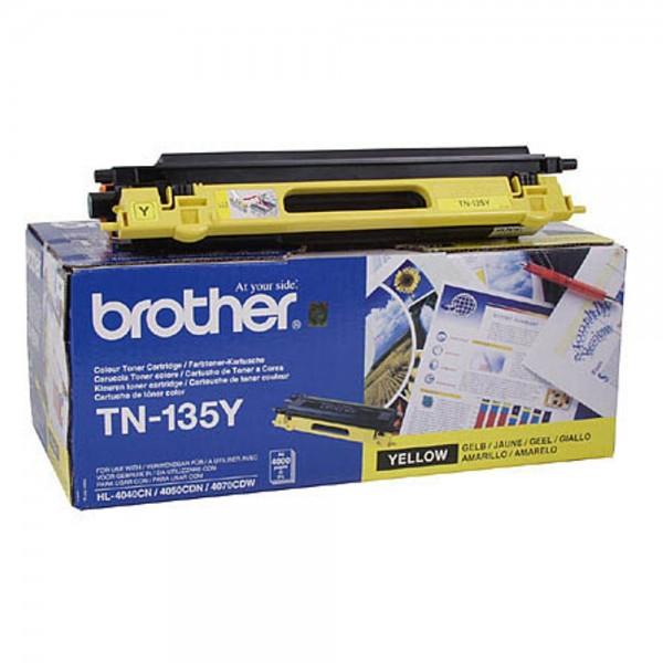 Brother TN-135Y Toner Yellow DCP9040CN DCP9045CDN HL4050CDN MFC9440CN