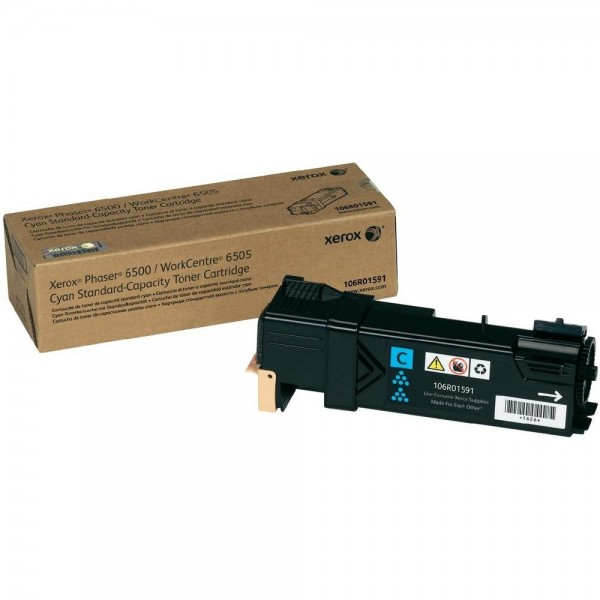 XEROX Toner Cyan für PH6500 Workcentre WC6505 Phaser 6500 106R01591