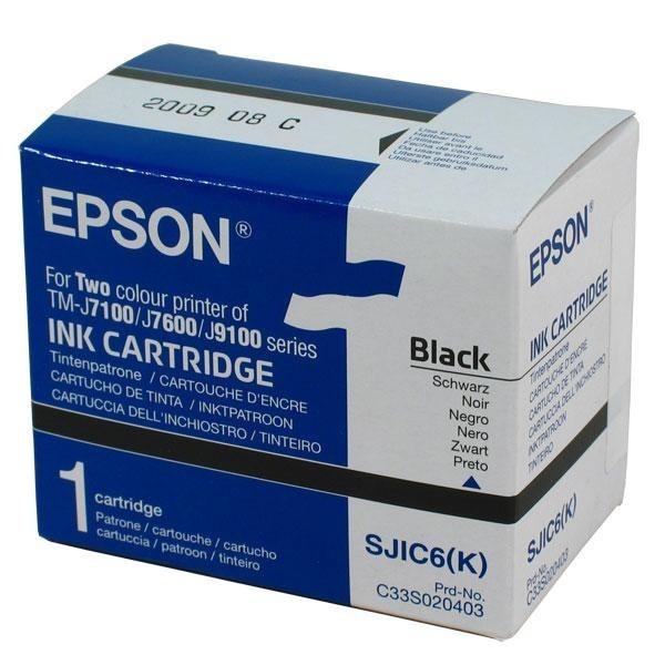 Epson SJIC6(K) Tintenpatrone Black für TM-J7100 Serie