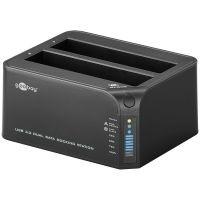 Goobay SATA HDD Dual Festplatten Dockingstation