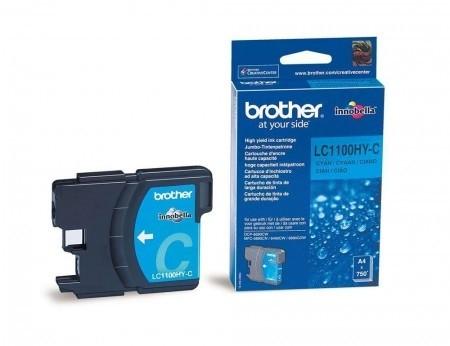 Brother Tintenpatrone Cyan LC1100HYC MFC-6890CDW MFC-5890CN