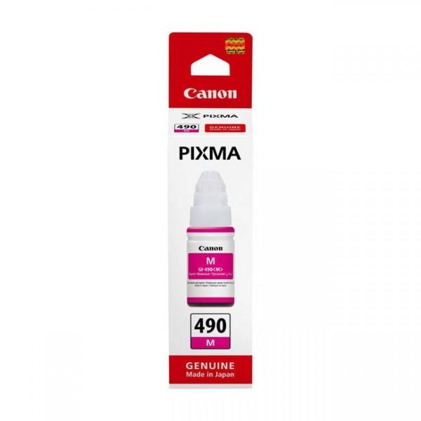 Canon Tinte GI-490 magenta 0665C001 für Pixma G1400 G1410 G2400 G2410 G3400 G4400