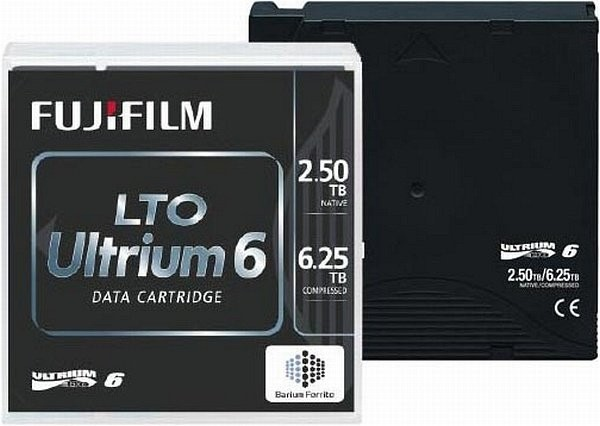 FUJI LTO6 Ultrium Cartridge 2,5TB 6,25TB