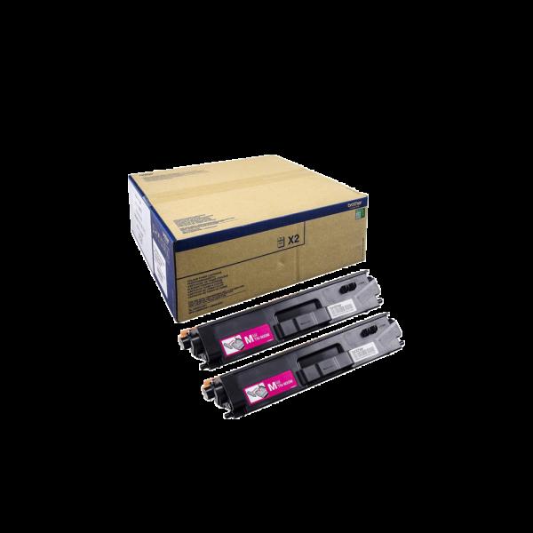 Brother TN-900M Toner Doppelpack Magenta für HL-L9200CDWT MFC-L9550CDWT