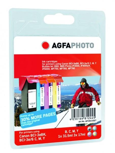 AGFAPHOTO CBCI3SET Canon BJC-6000 Tinte