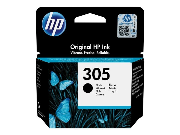 HP Tintenpatrone 305 black 3YM61AE für DeskJet 1255 2320 2330 2710 2720 2721 2722 2723 2724