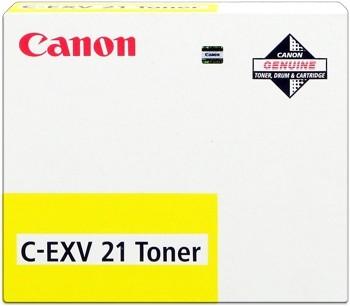 Canon C-EXV21 Toner Yellow iR-C2880 iR-C2380 iR-C3580 0455B002
