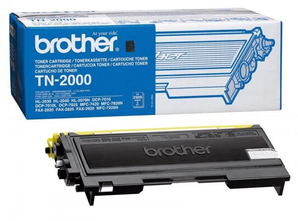 Brother Toner schwarz TN-2000 FAX2820 FAX2920 HL2030 MFC7225N MFC7820