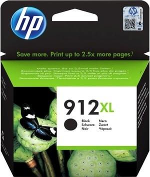 HP 912XL Tintenpatrone schwarz 3YL84AE OfficeJet 8012 8014 8015 OfficeJet Pro 8022 8024 8025 8035