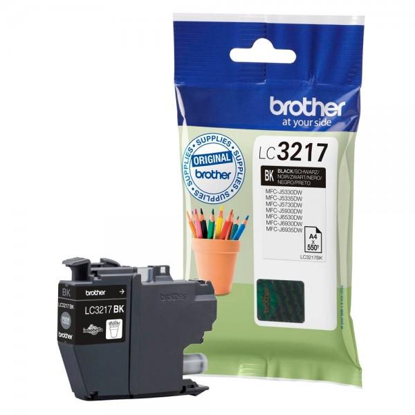 Brother Tintenpatrone LC-3217BK Black für MFC-J5330DW MFC-J5335DW MFC-J5730DW