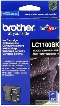 Brother Tintenpatrone Black LC1100BK