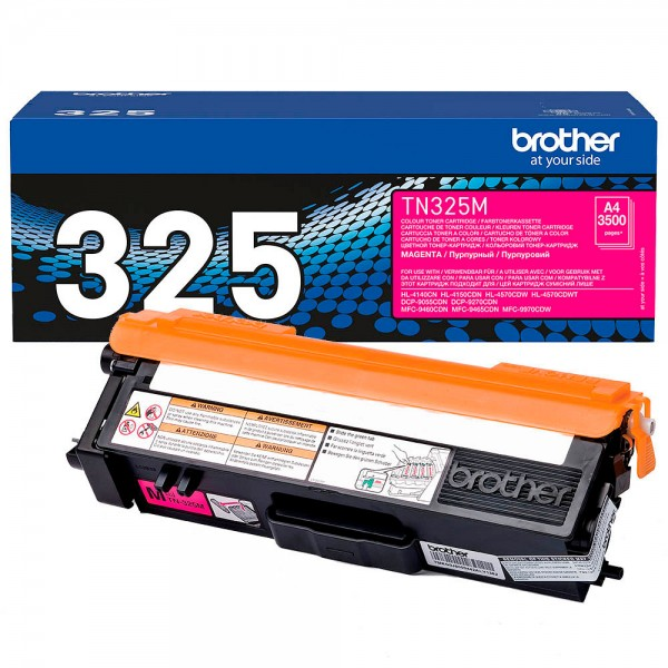 Brother Toner Magenta TN-325M DCP-9270 DCP-9055 HL-4150 MFC-9460