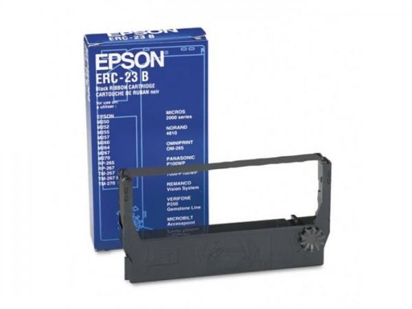 Epson ERC-23B Farbbandkassette schwarz für TM-250 TM-267 TM-270 TM-280