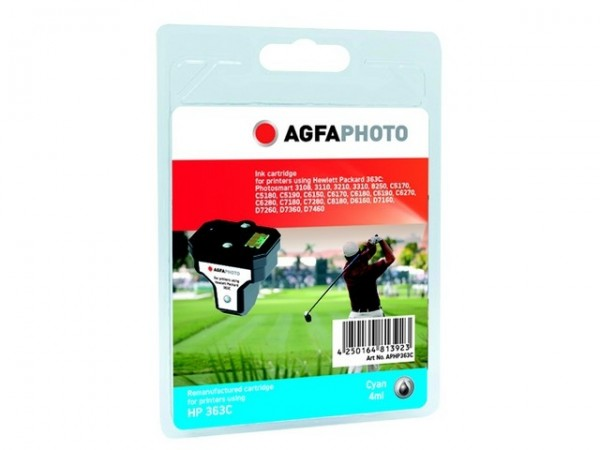 AGFAPHOTO HP363C HP PS8250 Tinte Cyan