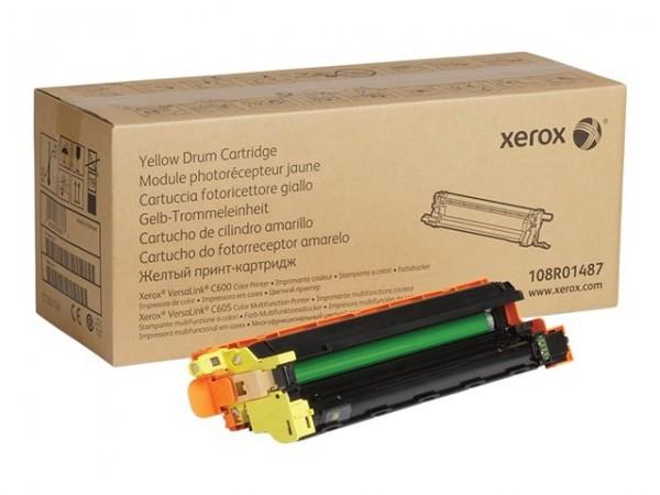 XEROX Bildtrommeleinheit yellow 108R01487 VersaLink C600 C605