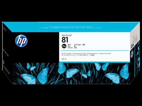 HP 81 Plotter Tinte Schwarz C4930A HP DesignJet 5000 DJ5500 Serie