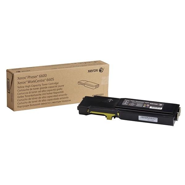 Xerox Toner Yellow 106R02231 für Phaser PH6600 WorkCentre 6605