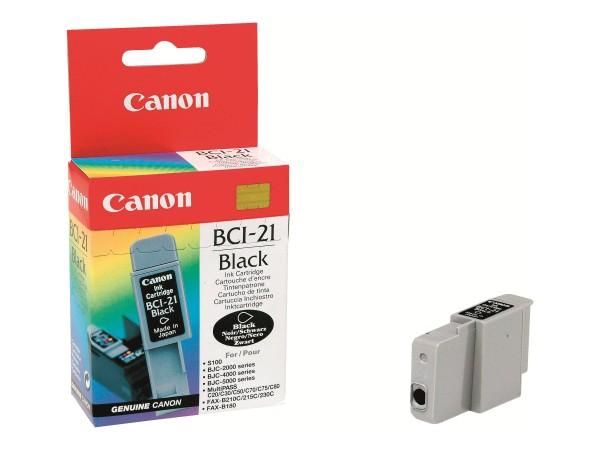 Canon Tintenpatrone black BCI-21BK 0954A002