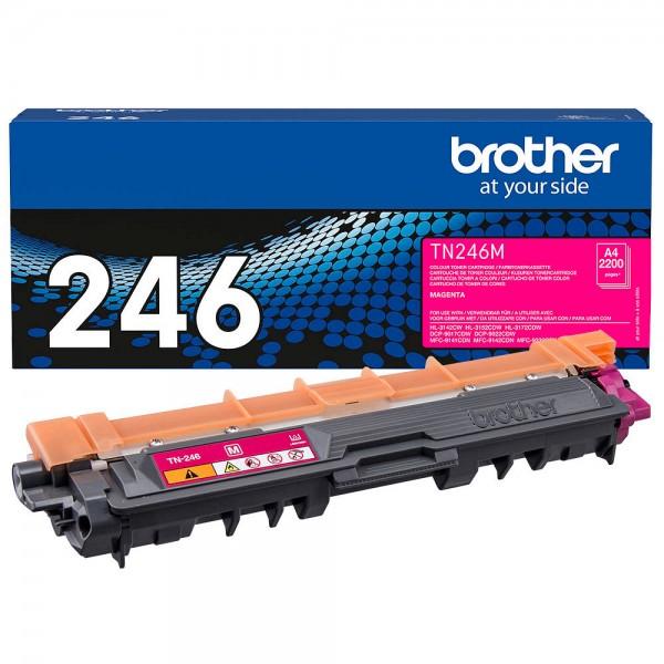 Brother TN-246M Toner Magenta HL-3142CW HL-3152CDW 3172 DCP-9022 MFC-9142 MFC-9342