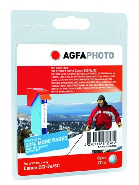 AGFAPHOTO CBCI3C Canon BJC-6000 Tinte cyan