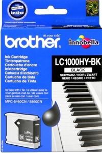 Brother Tintenpatrone HC Schwarz LC1000HYBK