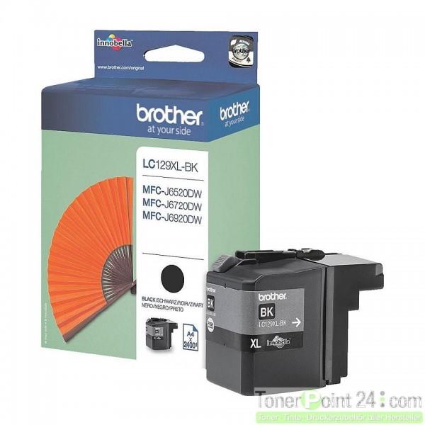 Brother LC129XLBK Tinte Black für MFC-J4510DW
