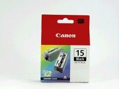 CANON BCI-15 Tintenpatrone Black 2er Pack i80