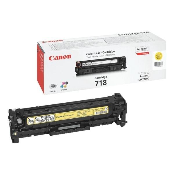Canon Cartridge 718 Toner Yellow 2659B002 LBP 7200 MF8350 MF8380
